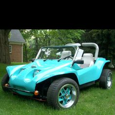 What Wouldn T Want A Sky Blue Dune Buggy I D Add