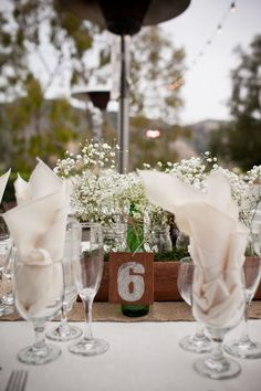 Coup de coeur du soir - Rustique, toile de jute - The Wedding Tea Room