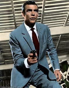 "sean connery as james bond in ""dr. no"" the best james bond. Sean Connery James Bond, Casino Royale, James Bond Style, Scottish Actors, Nude Portrait, Look Retro, James Bond Movies, Bond Girls, The Villain"