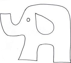 Free pattern: Giraffes, Elephants and hippos by Marinda