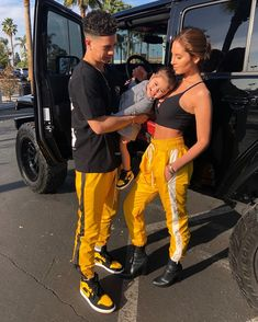 The Ace Family before Alaïa was born ❤️❤️🤞🏽 Matching Couple Outfits, Matching Couples, The Ace Family Youtube, Ace Family Wallpaper, Austin And Catherine, The Ace Family Catherine, Catherine Paiz, Black Families, Cute Couples Goals
