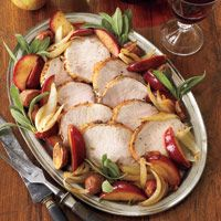 This comforting sage-infused roast pork loin is a one-dish meal  easy to cook, a snap to clean up.