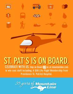 $50 Life Flight Membership from Providence / St. Patrick Hospital