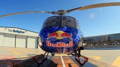 """When Red Bull asks you to Wrap a Helicopter you say """"HELL YES!"""" This Ink Monstr Helicopter wrap happens to be one of our favorites!"""
