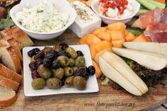 The Ultimate Mediterranean Appetizer Platter | The Organic Kitchen Blog and Tutorials