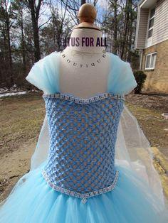 Disney Inspired Frozen Queen Elsa ,Great for birthdays, photos, costume and princess parties