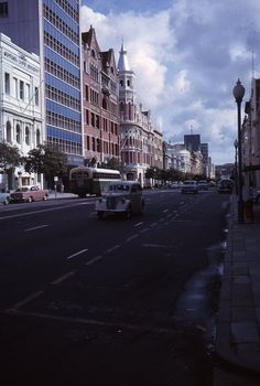 St Georges Terrace, Virtually all these. Perth Western Australia, Australia Travel, Australian Continent, Travel Wallpaper, Interesting Buildings, Largest Countries, Sympathy Cards, Tasmania, Vintage Photographs