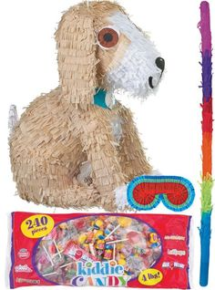 24143f81a1c Puppy Pinata Kit. Candy Party FavorsFirst BirthdaysHalloweenFirst ...