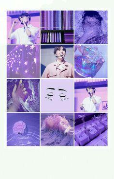 #Hoseok #Jhope #Purple #Aesthetic
