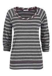 contrast stitch striped sweatshirt - maurices.com
