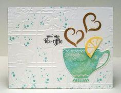 "Sylvia's Stamping Corner: The Coffee Lovers Blog ""IT'S INTERNATION TEA DAY!"""