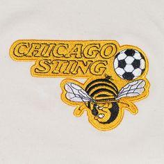 Show details for Chicago Sting Away Retro Football Shirt