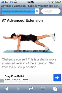 Advanced extension