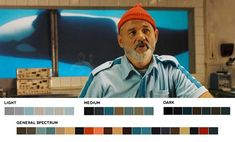 The Life Aquatic, 2004  http://www.anothermag.com/current/view/3586/Wes_Andersons_Colour_Palettes