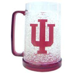 Indiana Hoosiers NCAA Crystal Freezer Mug