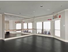 dance room, or maybe a regular exercise room