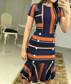 Image may contain: one or more people and people standing Simple Outfits, Simple Dresses, Classy Outfits, Casual Outfits, Fashion Outfits, Sunday Outfits, Beachwear Fashion, Looks Chic, African Wear