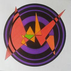 Triangular CirculAir by #Cheb2015 #GeometrikArt