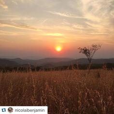#Repost @nicolaibenjamin with @repostapp. ・・・ #sundown #near #ruaha #camp