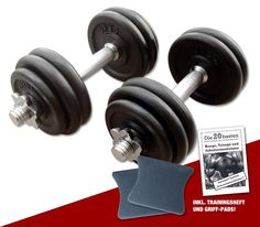 Guss Kurzhantel - Set 2 x 15 kg  #hantelset #hantel #lkurzhantelsetl #workout #vorteilsangebot #sparangebot #hanteltraining #fitness #training
