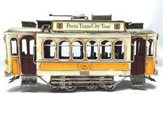 Vintage cable car miniature Porto Tram City Tour by GiftlandDeco
