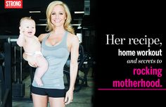 After Baby Routine- her at home workout seems do able for anyone juggling family life and work.