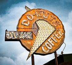 This reminds me of the Winchel's Donut signs in the '50s in the Los Angeles area.