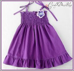 PURPLE dress for  girls-Girls dress - Spring dress -(Available in size 6 m. to 6T) toddlers  for baby girls photo prop.Spring dress.
