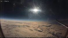 Books  — voidjumper-za:   An eclipse, caught from a plane.