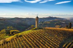 Canelli - The tower of Contini in autumn