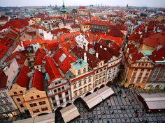 Escape to top vacation spot Stare Mesto in Prague, Czech Republic.
