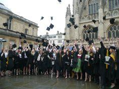 Graduación de Carolina Catedral de Bath
