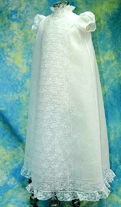 Christening Gowns, link to page of gown patterns