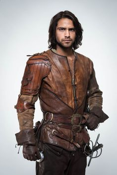 """The Musketeers"" TV show (D'Artagnan played by Luke Pasqualino)"