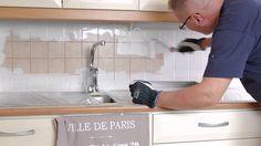 Katso työohjevideo kaakeleiden maalaamisesta. Otex Akva -pohjamaalilla ja Luja erikoisakrylaattimaalilla onnistut! Paris Ville, Kitchen Cabinets, Kitchen Ideas, House Ideas, Diy, Country, Videos, Home Decor, Decoration Home