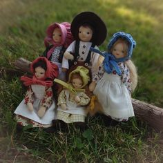 Your place to buy and sell all things handmade Felt Boots, Felt Hat, Ingalls Family, Laura Ingalls Wilder, Natural Toys, Mohair Yarn, Dollhouse Dolls, Suspenders, Super Cute