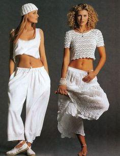 Elle (US) July 1993   Models: Agnieszka Kotlarska and Daniela Pestova