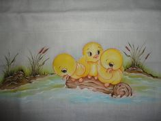 Baby Painting, Nursery Paintings, Tole Painting, Fabric Painting, Fabric Art, Animal Paintings, Cartoon Pics, Cartoon Drawings, Cartoon Art