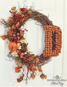 Fall Leaf Wreath!
