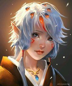 Elfen Priestess