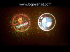Logo Yansit Dış Ortam Dönen Logo ve Lazer BMW ve Beğendik Mağaza Logoları - YouTube