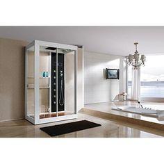 Echtglas Designer Dampfdusche B808 Sonderangebot 120 x 90 x 220 cm