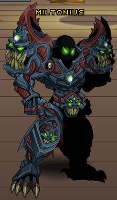 Dreadfiend of Nulgath (Armor) - AQW