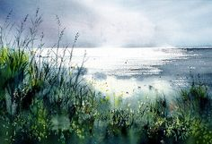 Erfrischende Seeluft, Aquarell | I painted this a while ago.… | Flickr