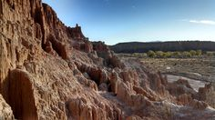 Cathedral Gorge State Park, Nevada. I love this place and that you can hike up into the hoodoo's and washout ravines