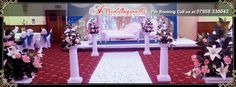 """Bride: A woman with a fine prospect of happiness behind her"".  A1 Weddingwalla is one of leading asian wedding stage decoration service provider in UK. We deal in wedding stages, wedding doli, mandap decoration, mehndi stage decoration and more. For booking call us at 07985 330043 or visit http://www.a1ww.co.uk. #asianwedding #stagedecoration #decor #stagedesign #weddingstages"