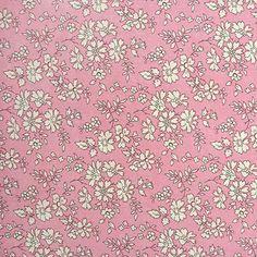 Liberty of London Tana Lawn: Capel Pink (R) – DuckaDilly