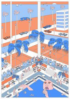 Johanna Walderdorff's illustrative eye for the absurd. (See more)