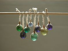 Glass Fishing Floats  by graceewhite on Flick'r -  her work isamazing