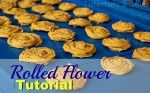 HOW 2 For Cloth Rosette Flowers... Tutorial PLUS 11 Rolled Flower Projects to Make!